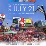Jesus In The City Festival – July 21, 2018