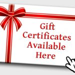 Online Gift Certificates Available!