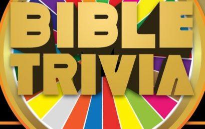 Online Bible Trivia